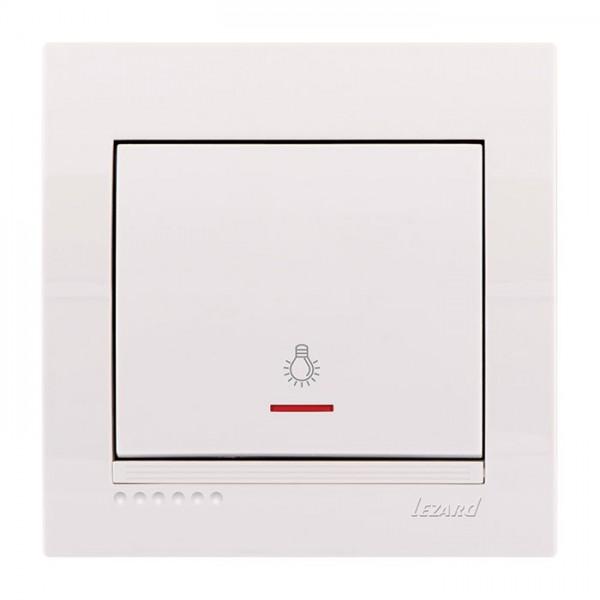 Кнопка таймера с подсветкой, белый, Deriy фото, цена
