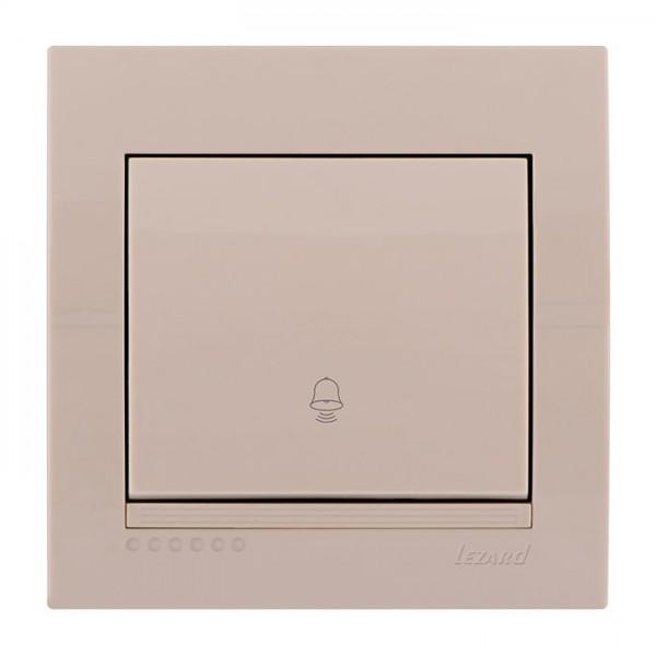 Кнопка дзвінка, крем, Deriy фото, цена