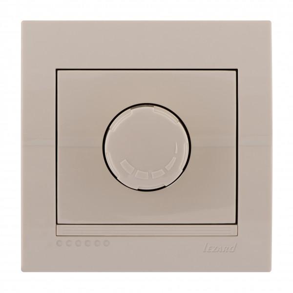 Діммер 1000 Вт, крем, Deriy фото, цена