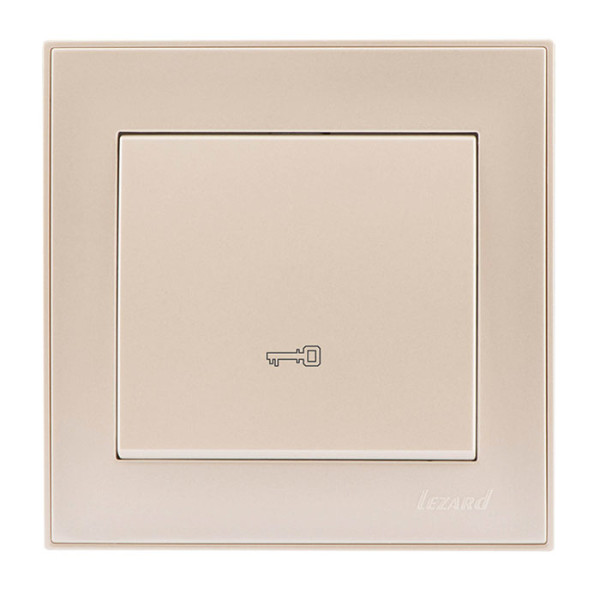 Кнопка дверного автомата жемчужно-белый Rain фото, цена