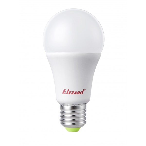 Лампа светодиодная LED Глоб, 5W - E27, 2700K, Lezard фото, цена